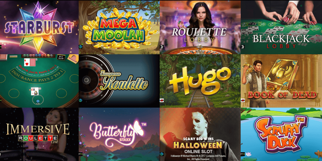 Casino Cruise online casino games