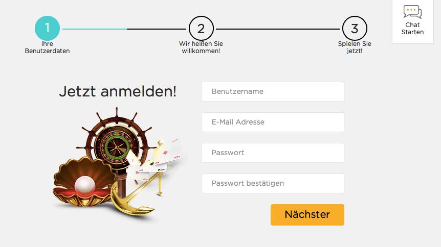 Casino Cruise Registrierung