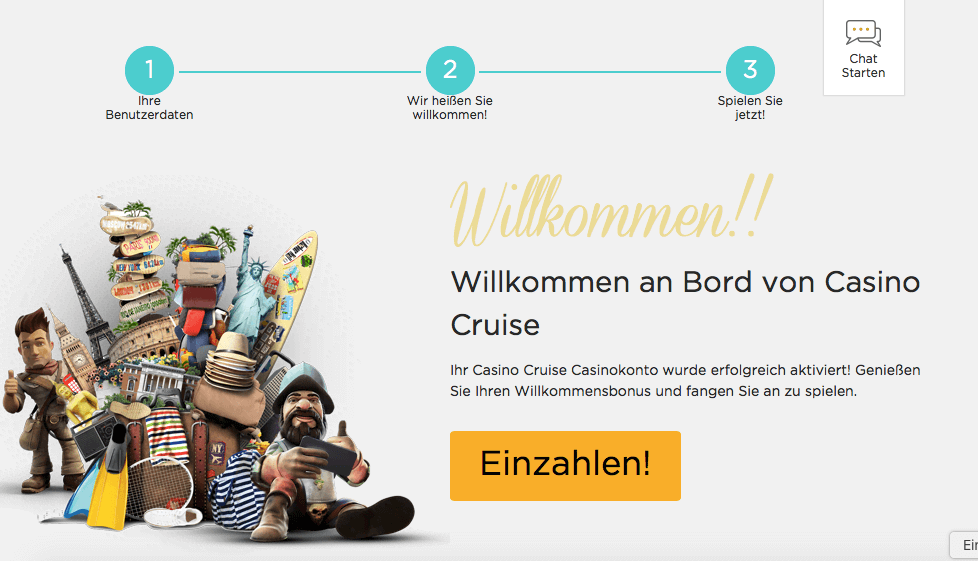 Bei Casino cruise registrieren